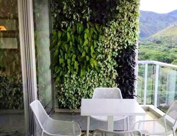 Cómo hacer un jardín vertical para tu balcón