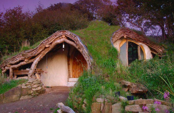 Construyen una Casa Hobbit sostenible con 3500 euros